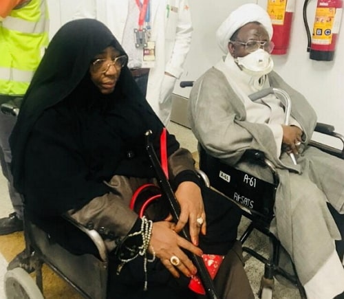 Sheik Ibrahim El Zakzaky returned india
