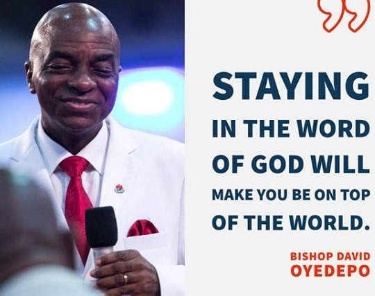bishop oyedepo messages