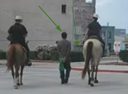 blackman tied rope galverston texas