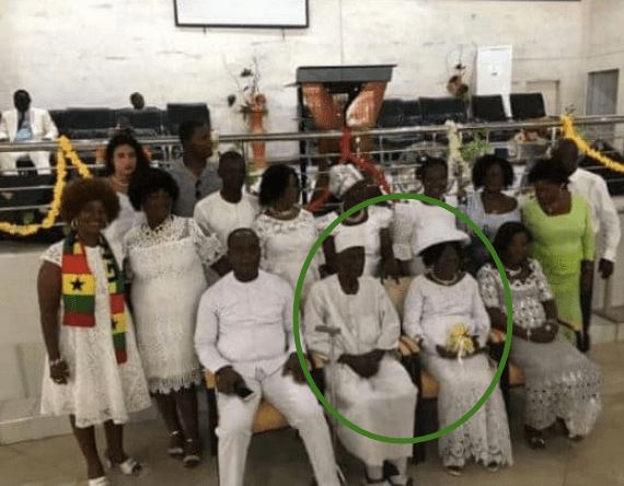 ghanaian couple marry 50 years