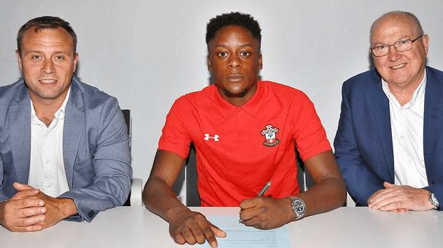 jonathan afolabi leaves Southampton
