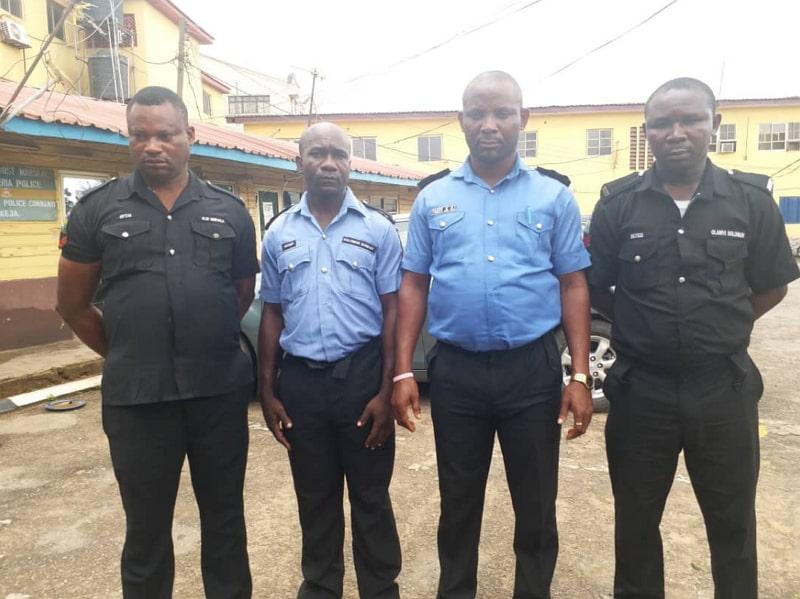 lagos killer cops arrested