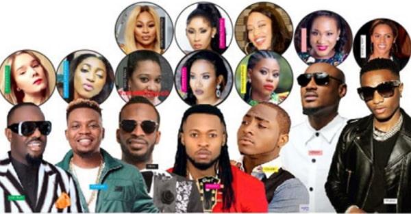 nigerian celebrities baby mamas photos