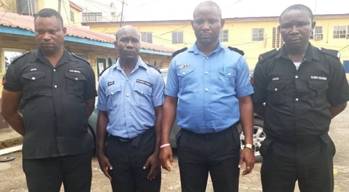 nigerian policemen killed robbery suspects
