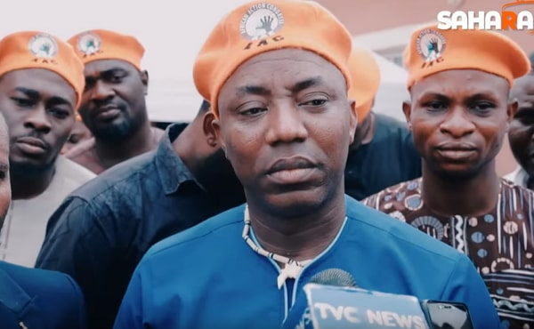 omoyele sowore arrest video
