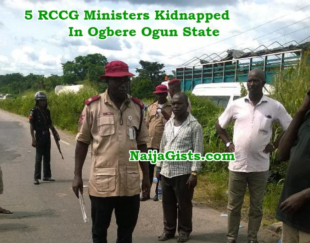 rccg ministers kidnapped ogbere ogun state