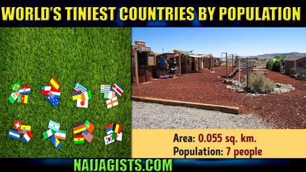 smallest countries in the world population 2019