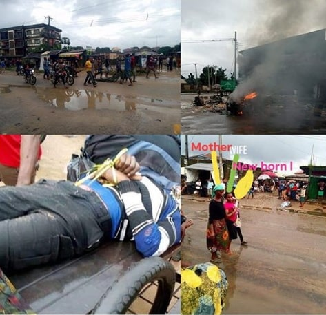 soldier kills tricycle rider 100 naira bribe