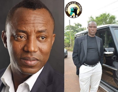 sowore expelled from his party
