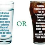 Be A Bottle Of Water And Not A Bottle Of Soda!