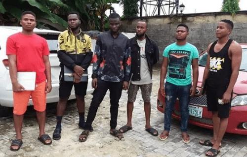 yahoo boys arrested uyo akwa ibom state