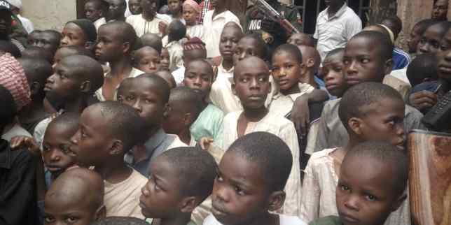 300 children rescued kaduna
