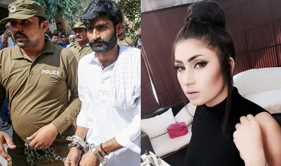 Qandeel Baloch convicted sentenced life