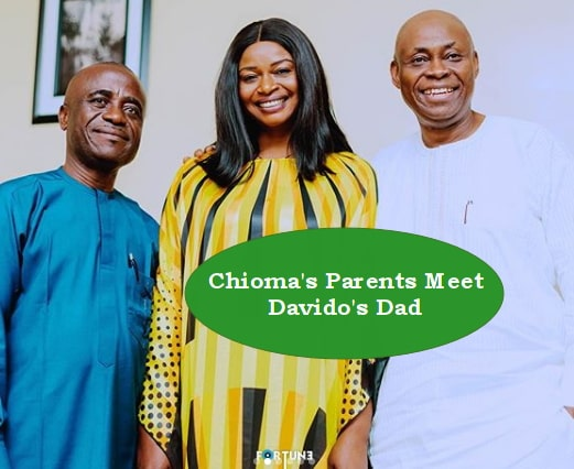 chioma parents meet davido father