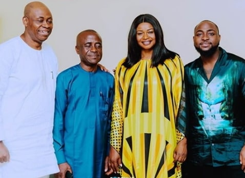 davido meet chioma parents