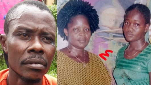 man killed wife mother sister edo