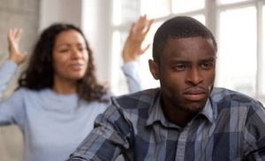 Nigerian Man Beats Wife Up For Finding Out About Secret German Wife