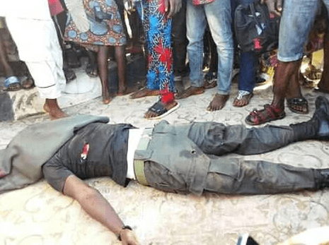 policeman killed wema bank ise ekiti robbery