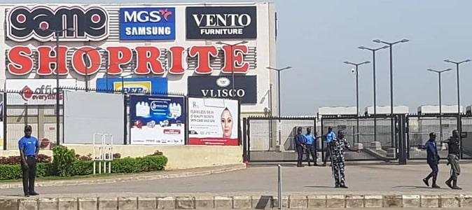 protest shoprite mall abuja