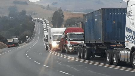 south african truck drivers strike