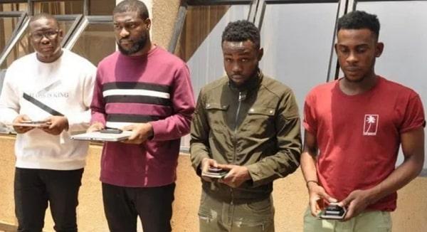 yahoo boys arrested dawaki abuja