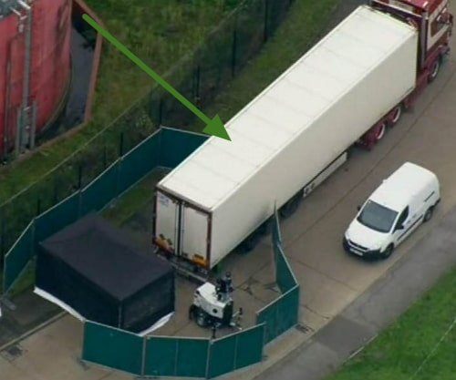 39 bodies found truck essex london