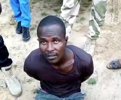 boko haram driver bukar china arrested