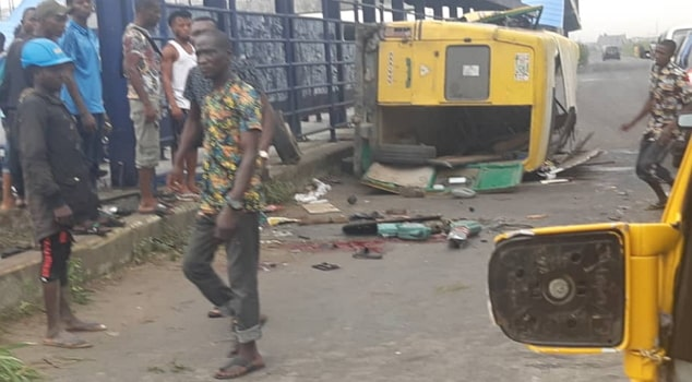 bus accident festac lagos today