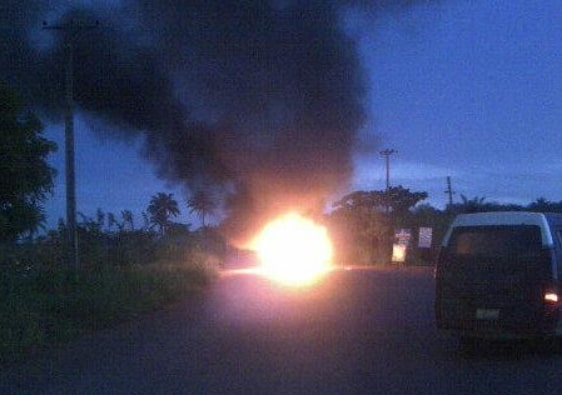 bus fire anambra