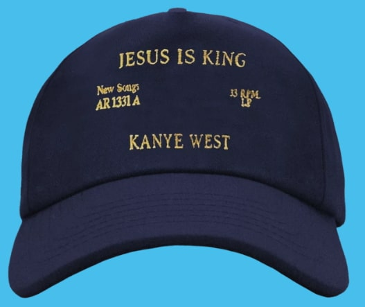 kanye west jesus is king cap