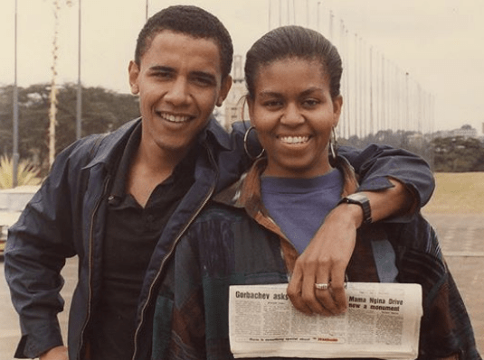 michelle barack obama 27th wedding anniversary