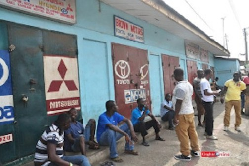 nigerian shops shut down kumasi ghana