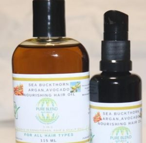 Get Rid Of Dandruff With Pure Blend Nourishing Hair Oil