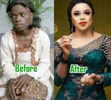 bobrisky female body