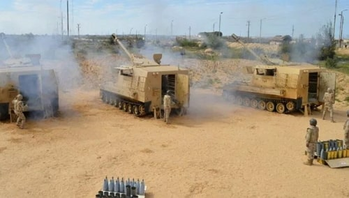 Egyptian army kills terrorists