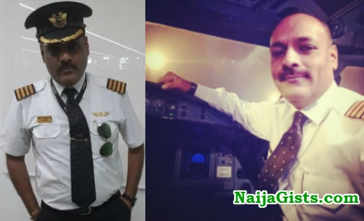 fake lufthansa pilot arrested india photos