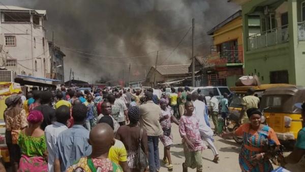 fire outbreak lagos nigeria