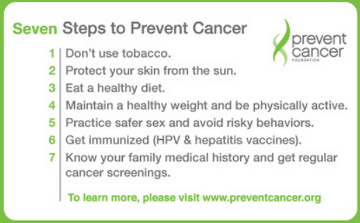 how to prevent cancer naturally