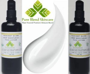 Control Oily Skin With Pure Blend Radiant Glow Lotion & Purifying Mask