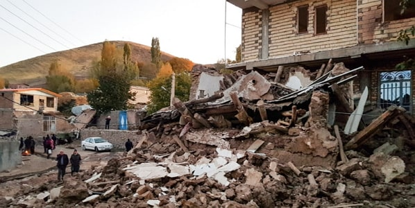 iran earthquake death toll