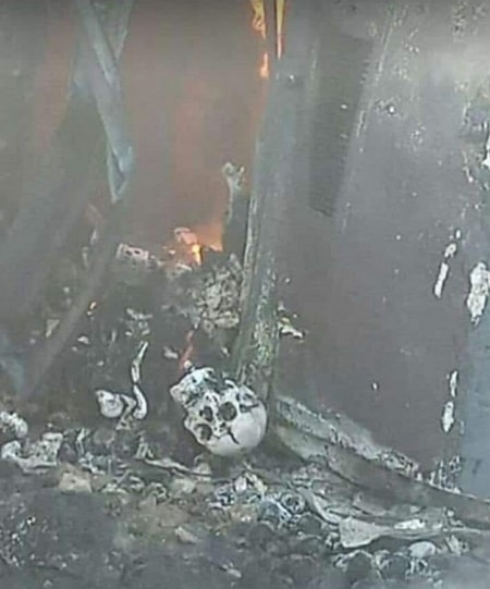 pdp women leader burnt to ashes kogi state