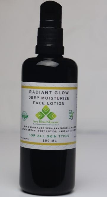 radian glow skincare restoration lotion