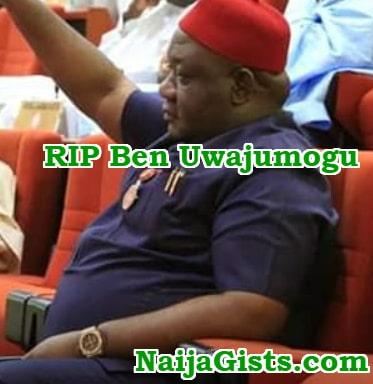 Benjamin Uwajumogu dead