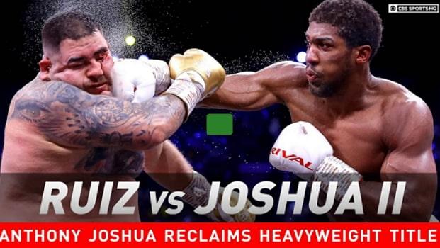 anthony joshua ruiz rematch full fight