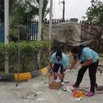 gas explosion sheraton hotel vi lagos