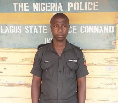 killer lagos cop arrested