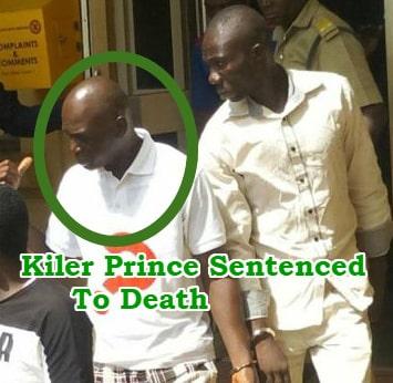 lagos prince sentenced death murder