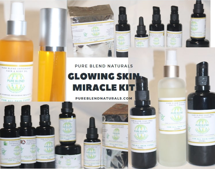 natural products for glowing skin