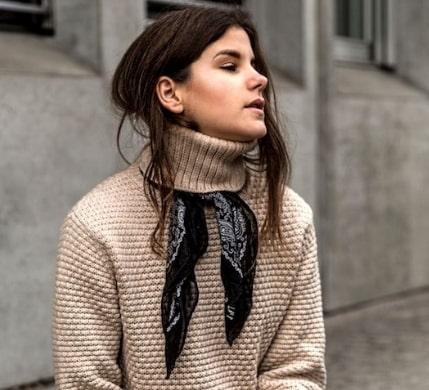 scarf style photos