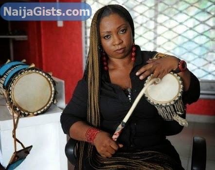 nigeria first female talking drummer